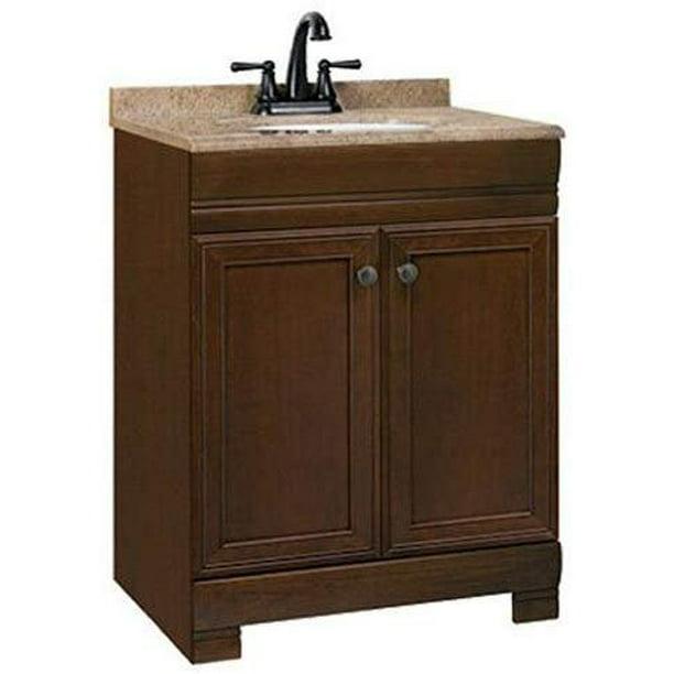 Rsi Home Products Sales Westbrook 24 5 W X 18 5 D X 34 5 H Vanity Combo Walmart Com Walmart Com