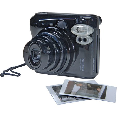Fujifilm Instax Mini 50S Instant Print Camera, Piano Black
