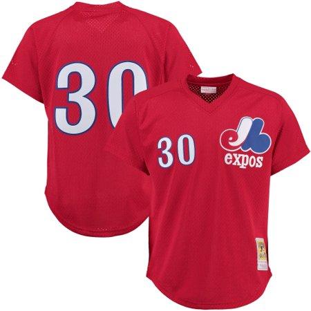 big sale 0cf0b d1177 Tim Raines Montreal Expos Mitchell & Ness Batting Practice Jersey - Red