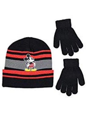 448488ed704 Product Image Disney Mickey Mouse Boys Beanie Winter Hat Glove Set
