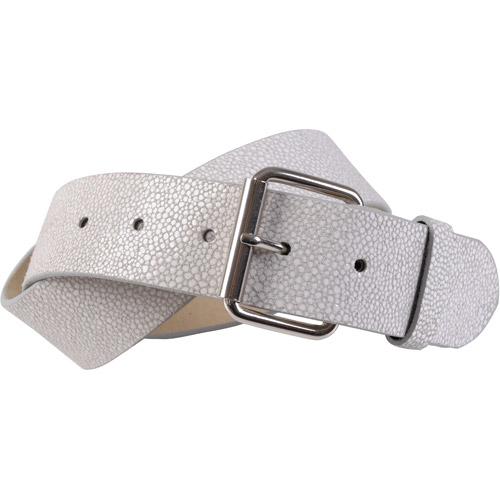Brinley Co Womens Distressed Genuine Leather Belt