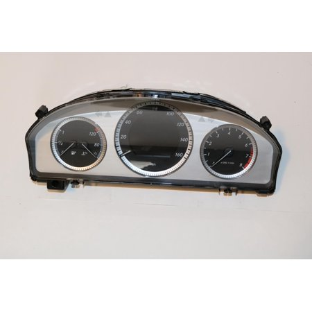 Mercedes Instrument (11-11 Mercedes GLK350 Instrument Cluster Speedometer Gauge 89,749 #47824 )