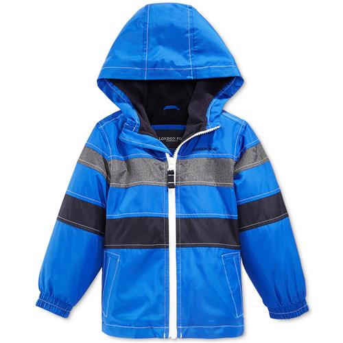 London Fog Boys Hooded Pieced Puffer Jacket