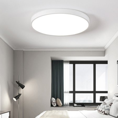 12/15W Modern Round LED Ceiling Light Mount Fixture Lamp Home Bedroom Kitchen ()