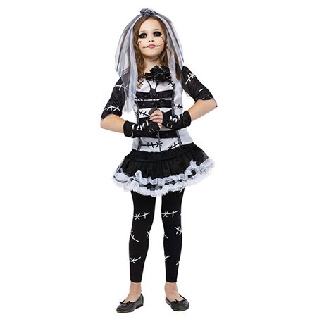 Monster Bride Girls Cute Horror Halloween Costume - Typical Halloween Monsters