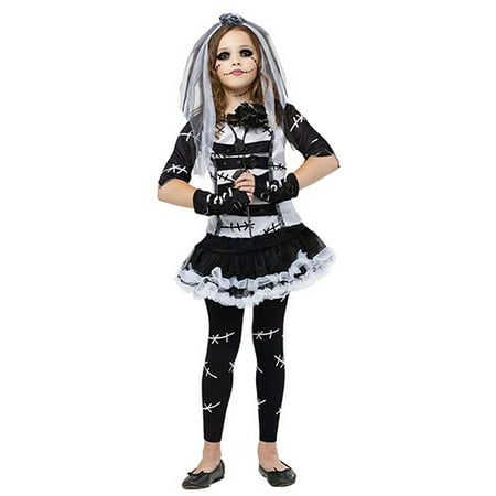 Monster Bride Girls Cute Horror Halloween - Horror Bride Costume