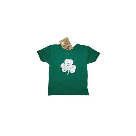 359f4ccb67d8e Nyc Factory - NYC FACTORY Screen Printed Distressed Shamrock Toddler T-Shirt  Tee 2T 3T 4T Irish Green (4t) - Walmart.com