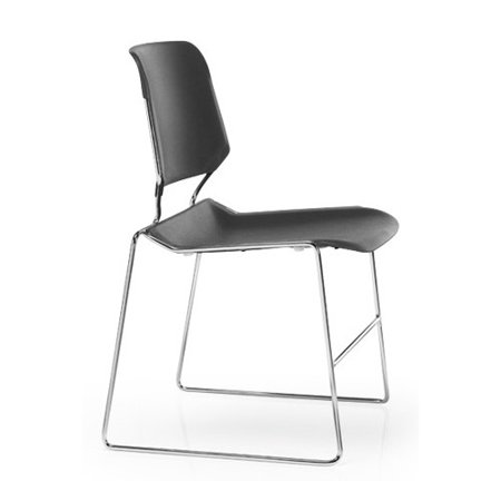 Ki Furniture Matrix Armless Stacking Chair