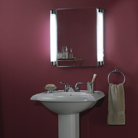 455FL Recessed Bathroom Medicine Cabinet