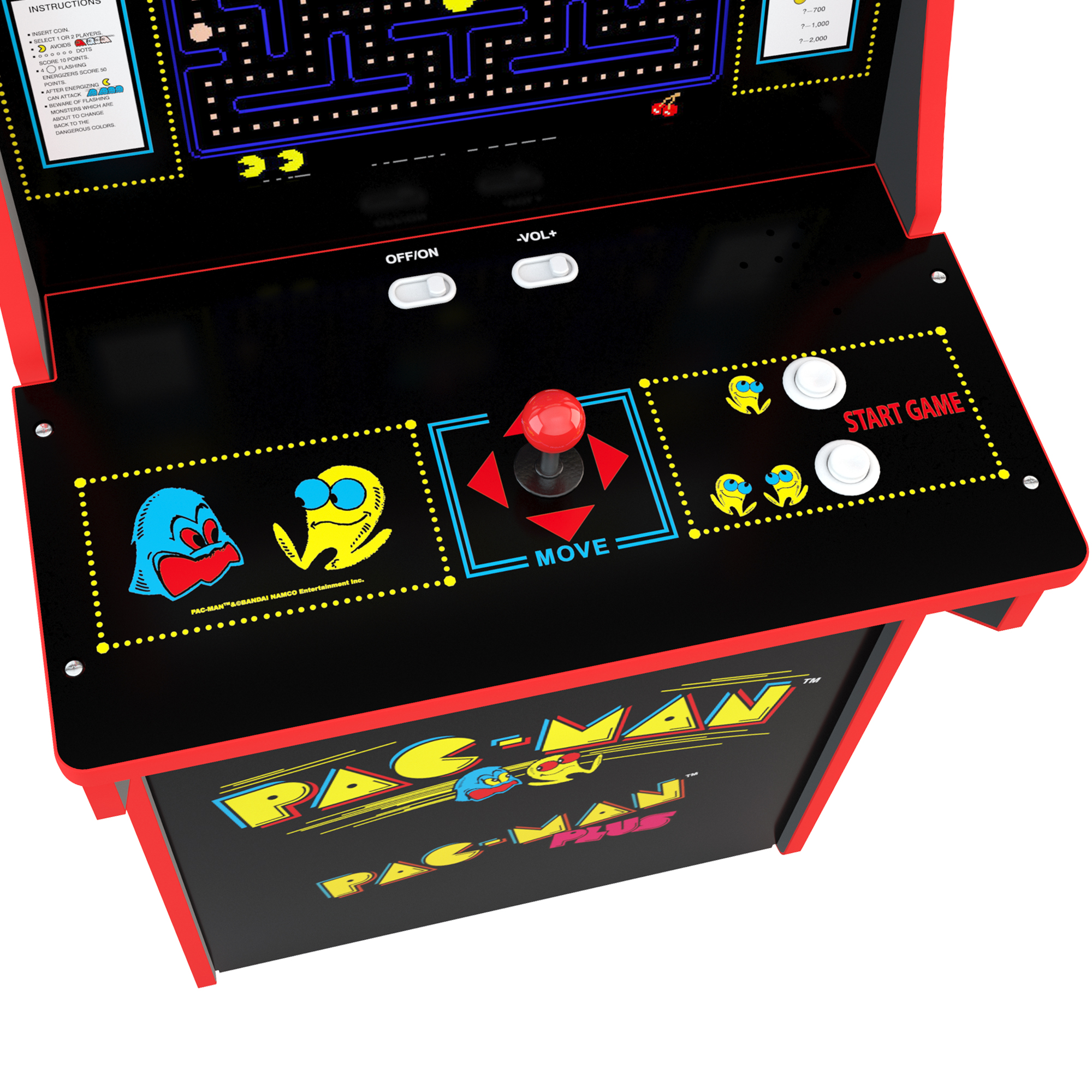 Pacman Arcade Machine, Arcade1UP, 4ft