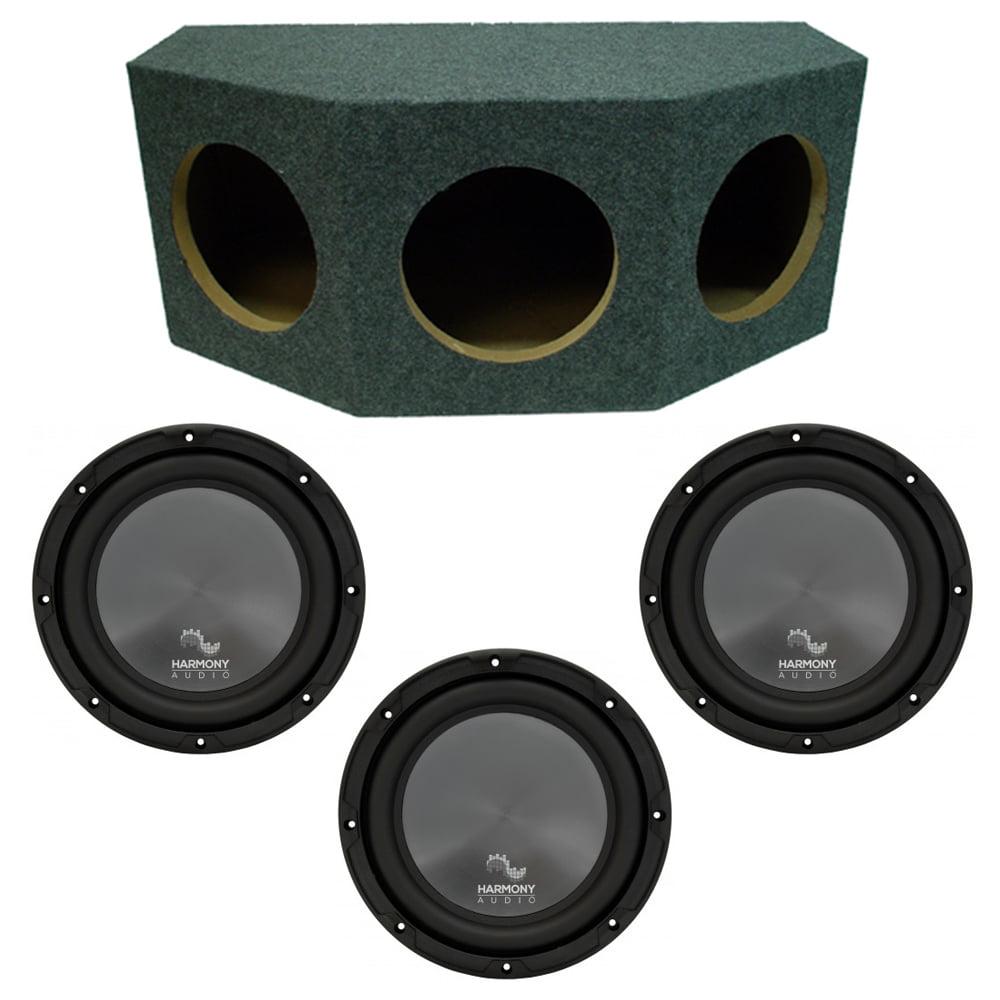 """Harmony Audio R124 Triple 12"""" Subwoofer Loaded 1800 Watt ..."""