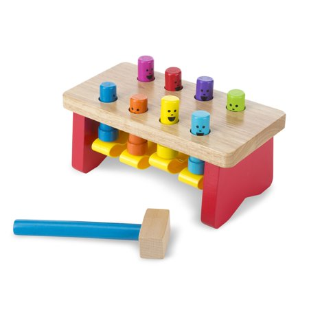 Melissa & Doug Deluxe Pounding Bench Wooden Toy With - Anamalz Wooden Toy
