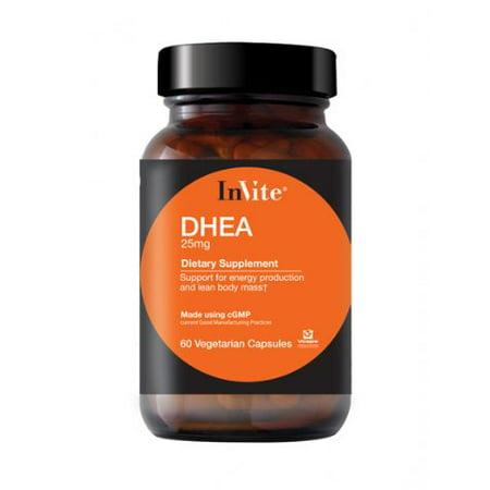 Invite Health 25 mg DHEA 60Caps