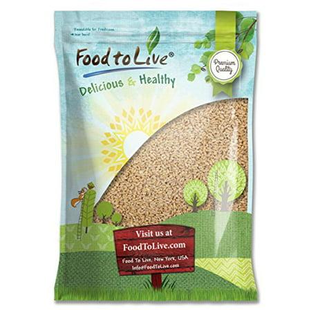 Polka Barley - Pearled Barley, 10 Pounds - Kosher, Raw, Vegan - by Food to Live
