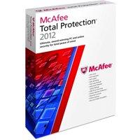 McAfee Total Protection 2012 - Box pack (1 year) - 3 PCs (mini-box) - Win - English