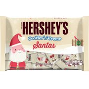 Hershey's Holiday Cookies 'n' Creme Santa Bars, 10.35 oz