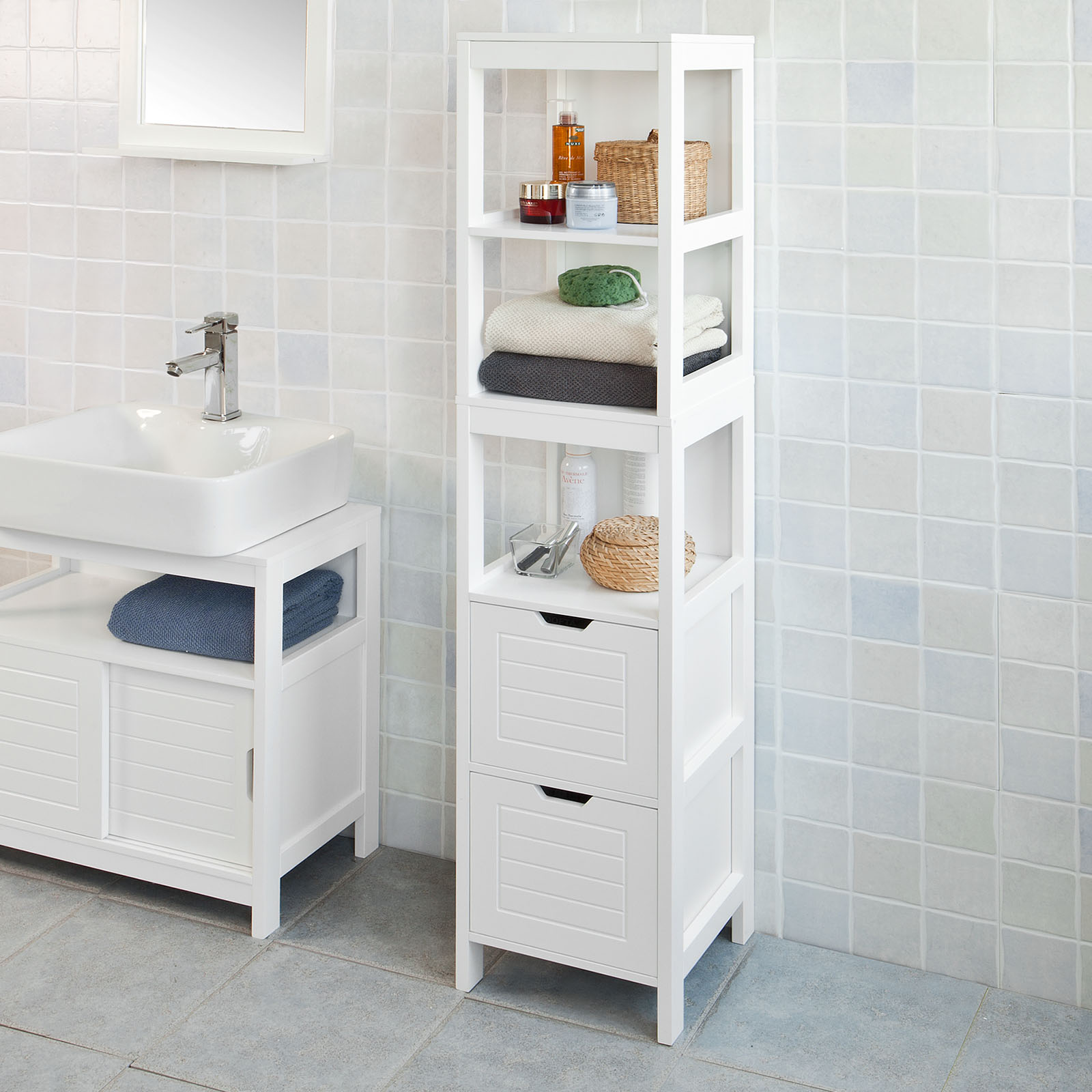 White Under Sink Bathroom Storage Cabinet haotian bathroom vanity set,white under sink bathroom storage