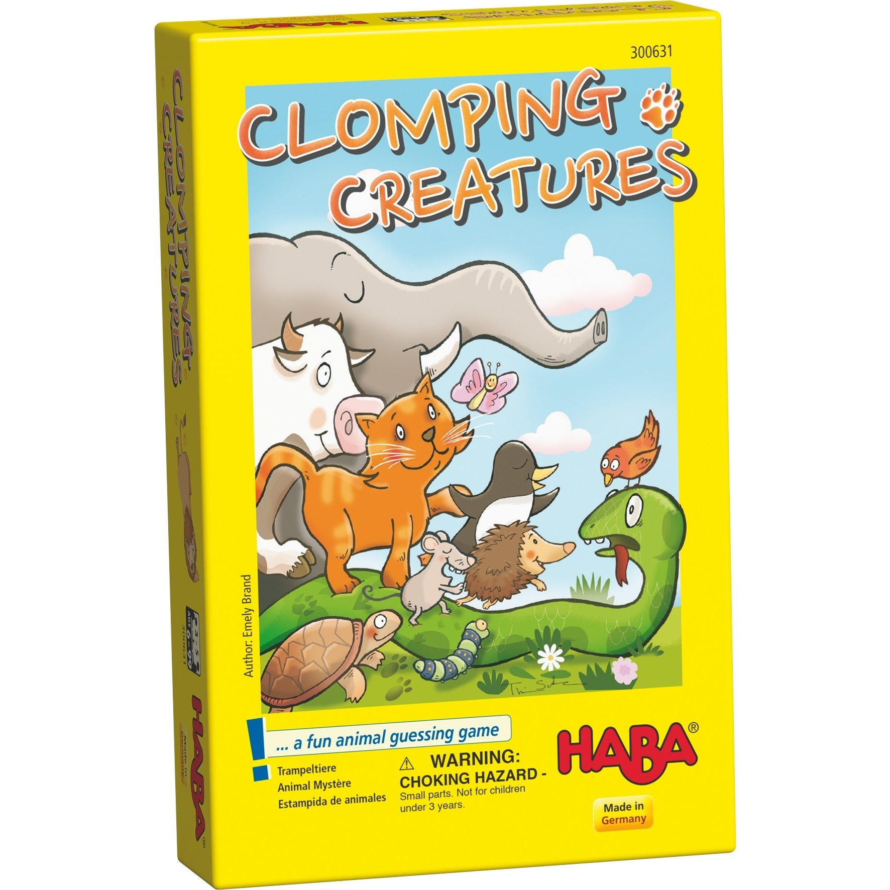 HABA Clomping Creatures - An Award Winning Guessing Game for Ages 6  (Made in Germany)