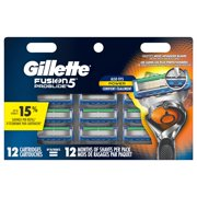 Gillette ProGlide Mens Razor Blades Refill Cartridges, 12 ct