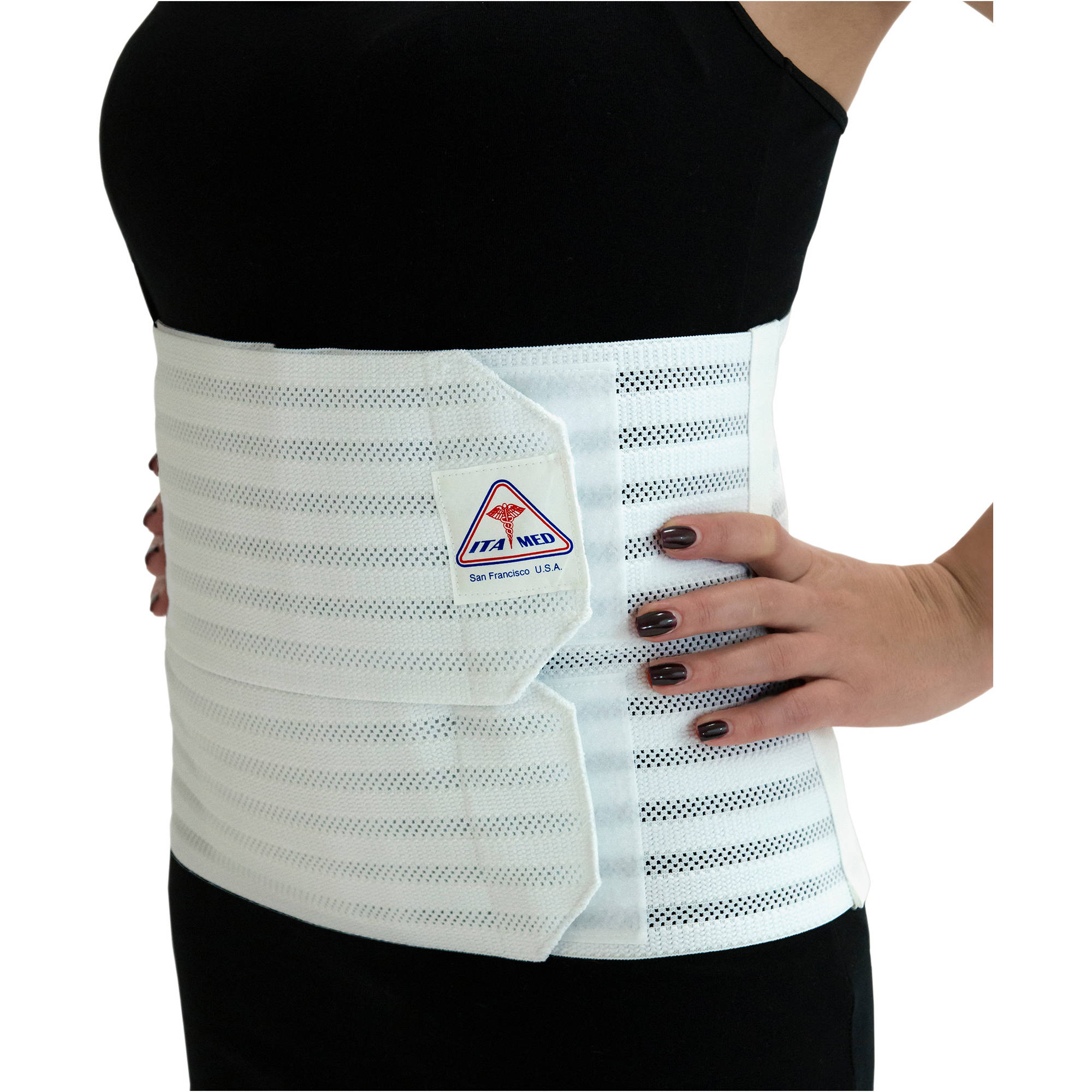 ITA-MED Medium Support Abdominal Binder for Women, AB-309(W)