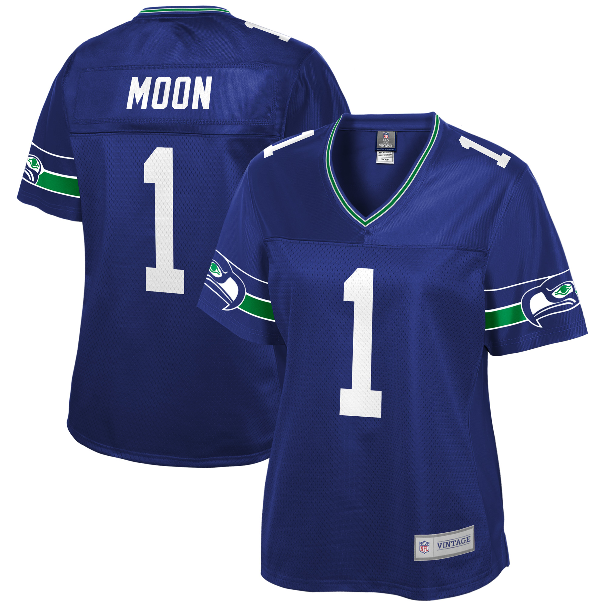 0d741bab4 Warren Moon Seattle Seahawks NFL Pro Line Women's Retired Player ...