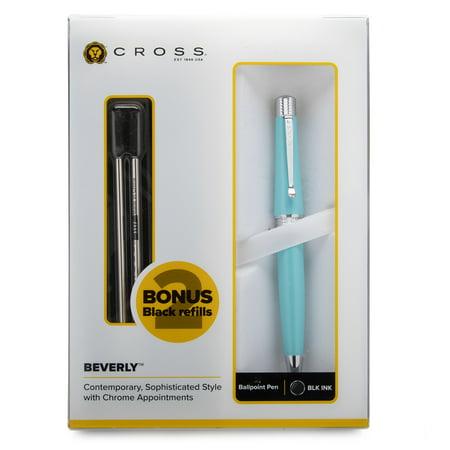 Cross Lustrous Ballpoint Pen - Cross Beverly Ballpoint Pen (Teal)