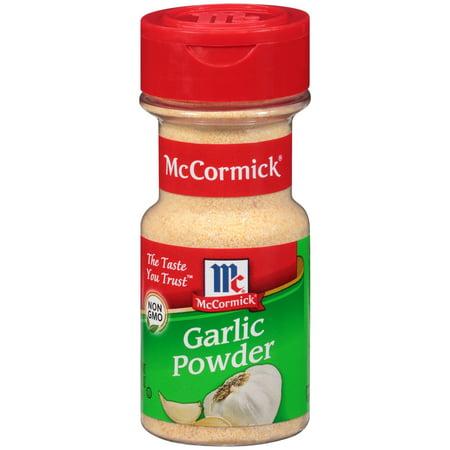 (2 Pack) McCormick Garlic Powder, 3.12 oz