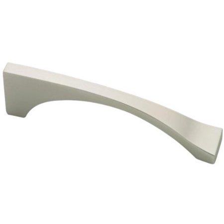 (10 Pack) Matte Nickel Asymmetric Pull - 96mm - Mn Matte Nickel