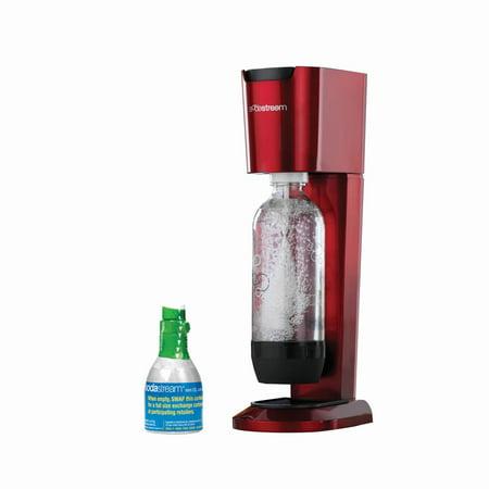 Sodastream Genesis Home Soda Maker Starter Kit  Red