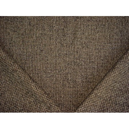 130H12 - Black / Old Gold / White Basketweave Designer Upholstery Drapery Fabric - By the (Gold Upholstery)