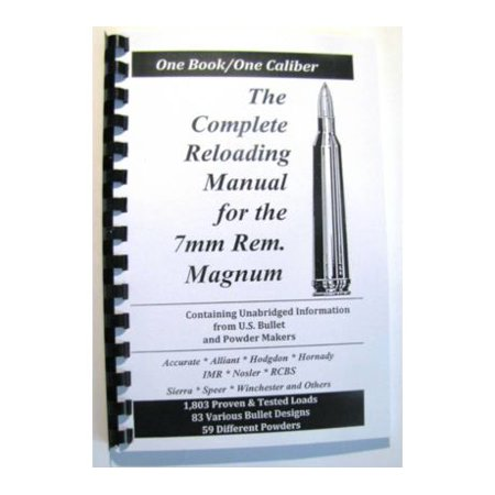 Loadbooks USA, Inc. The Complete Reloading Book Manual for 7mm Remington Magnum,
