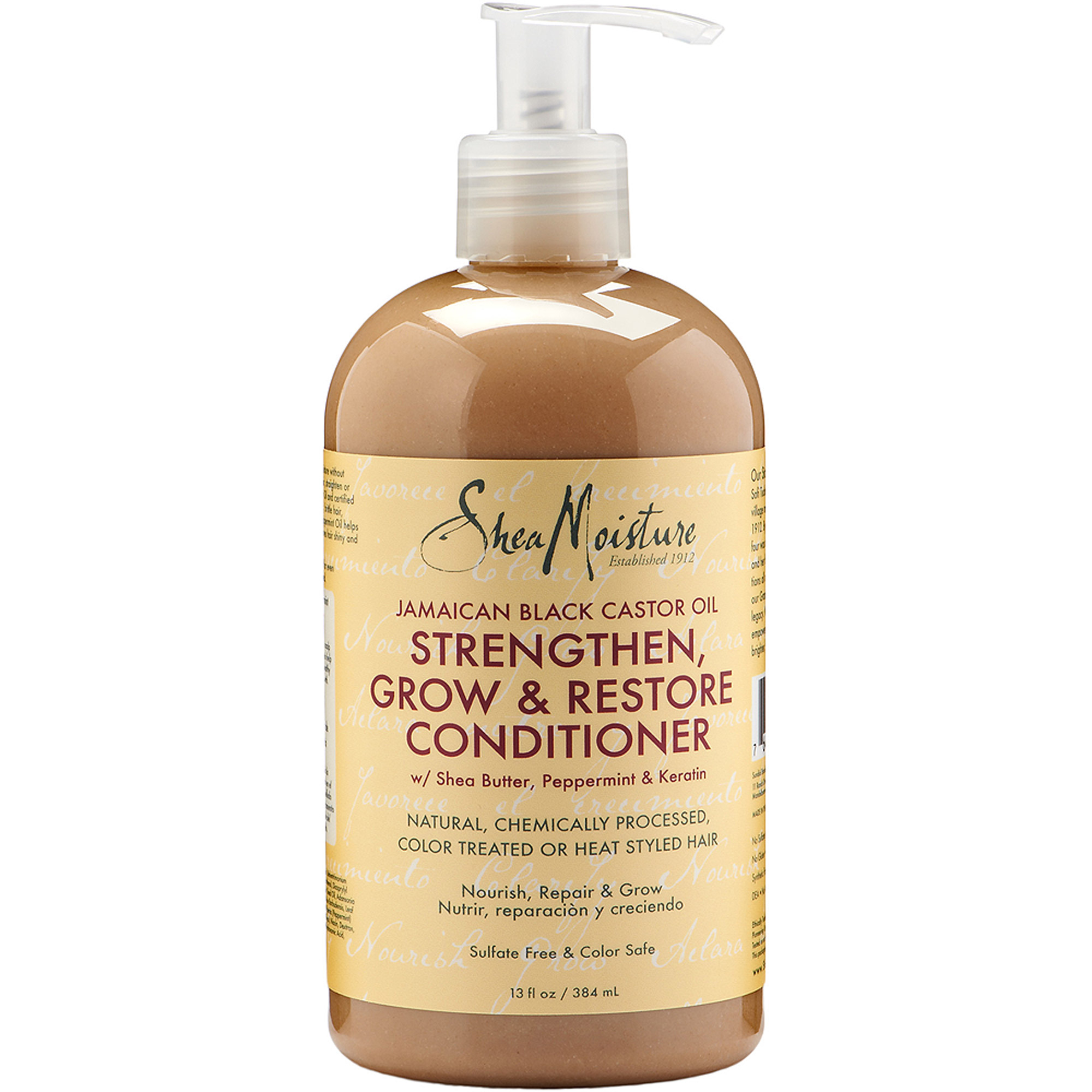 SheaMoisture Jamaican Black Castor Oil Strengthen, Grow & Restore Conditioner, 13 fl oz