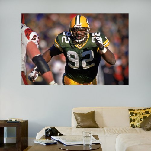 Fathead NFL Player Legends In Your Face Mural Wall Decal
