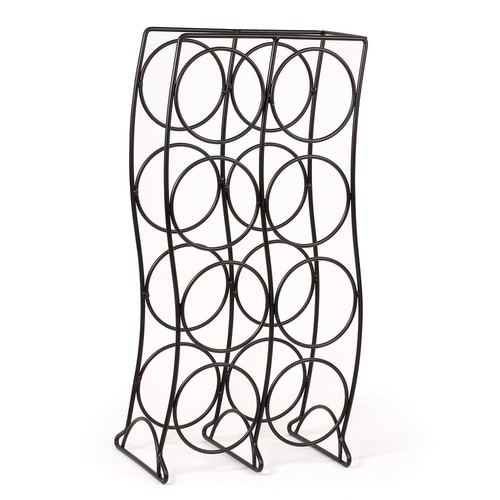 Spectrum Curve 8-Bottle Wine Rack, Black by Other