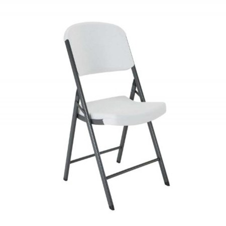 Lifetime Classic Commercial Folding Chair, White Granite, 22804 ()