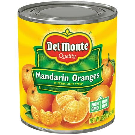 Del Monte Mandarin Oranges in Light Syrup, 8.25 oz Can