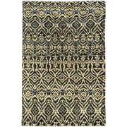 Tommy Bahama Area Rugs: Ansley 50904 Black Circles Dots Contemporary Carpet
