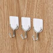 drunkilk Strong Adhesive Hook Wall Door Sticky Hanger Holder for Kitchen Bathroom