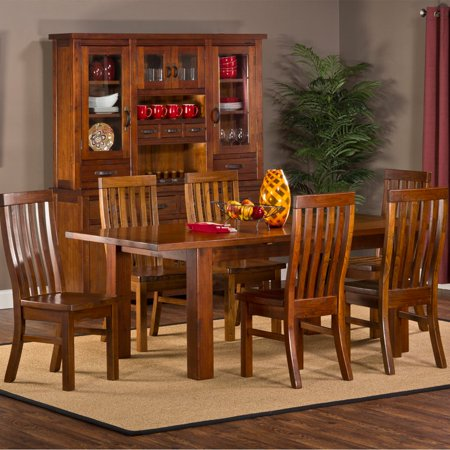 Hillsdale Outback 7-Piece Dining Set with Leaf - Distressed ...