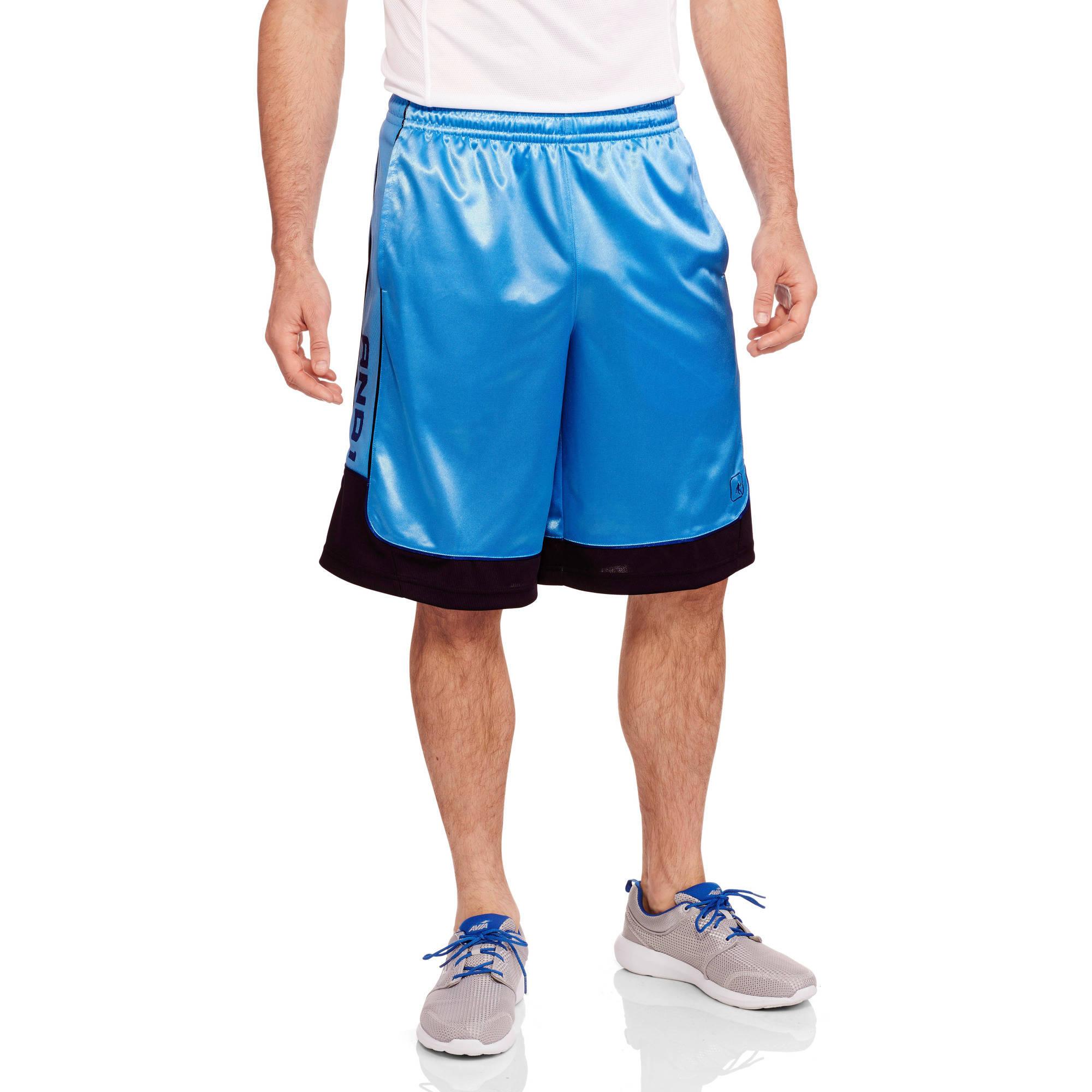 AND1 Big Men's Colorblock All Courts Basketball Short