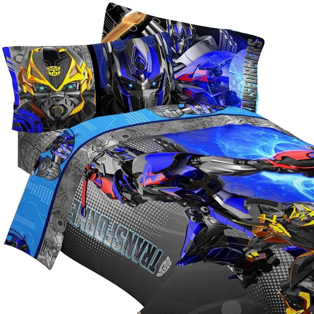 Store51 Llc 17245181 Transformers Bedding Set Optimus Prime Alien Machines  Comforter And Sheet Set - Walmart.com
