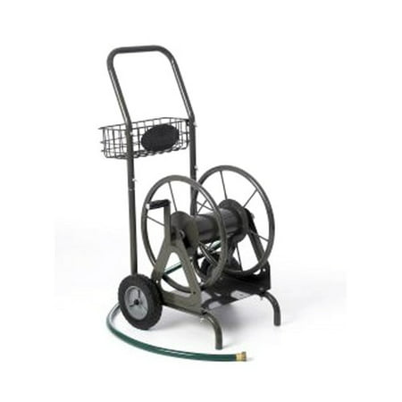 liberty garden products 871 1 residential grade 4 wheel garden hose reel cart - Garden Hose Reel Cart