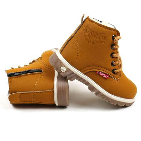 Binmer® Hot Sale Children Warm Boys Girls Martin Sneaker Boots Kids Baby Casual Shoes