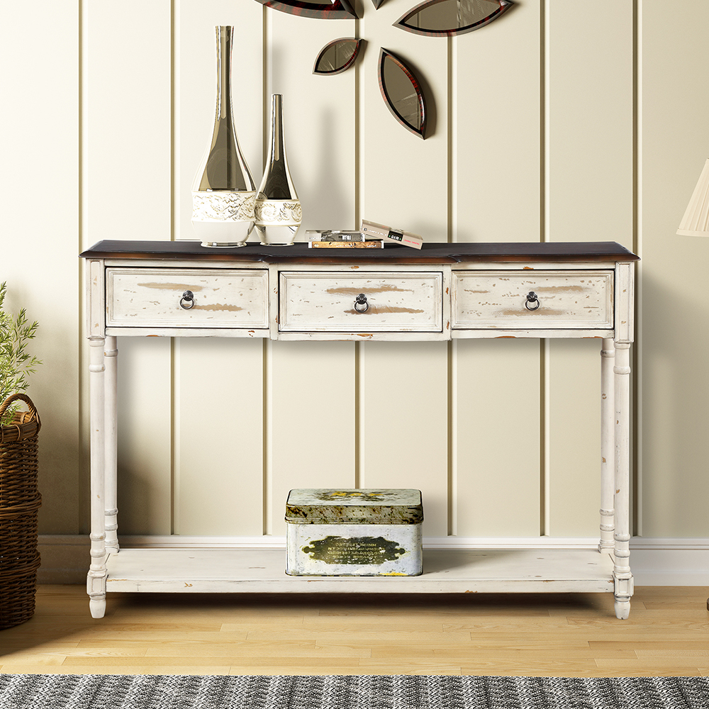 """Clearance! 51"""" Upgrade Console Table Buffet Cabinet ..."""