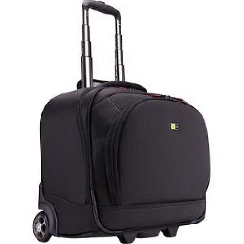 "Case Logic KLR-215BLACK Travel/Luggage Case (Roller) for 15.6"" Notebook, iPad, Tablet PC, Travel Essential"