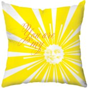 Checkerboard, Ltd Sunshine Throw Pillow
