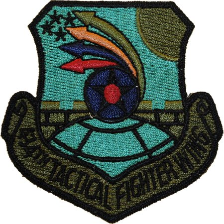 Fighter Wing Patch - U.S. Air Force 434th Tactical Fighter Wing Patch Green