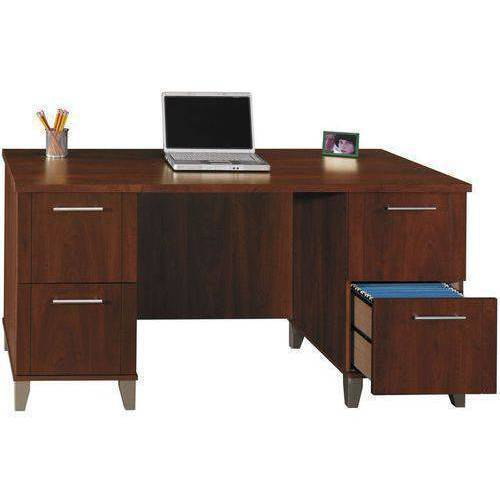 "Bush Furniture Somerset 60"" Desk, Hansen Cherry"