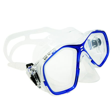 Palantic Blue Jr. Diving/Snorkeling Prescription Dive Mask with RX Lenses - Prescription Contact Lens Halloween