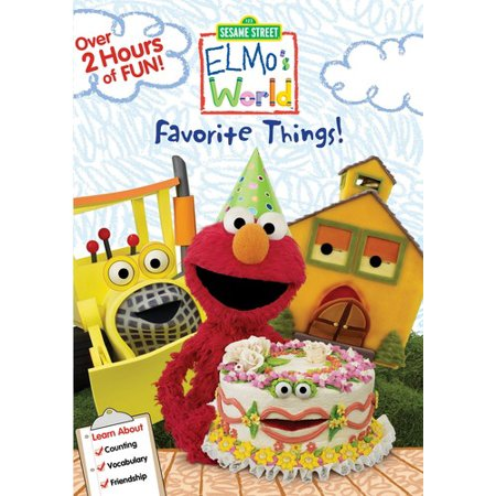 Elmo Worlds: Elmos Favorite Things (DVD) - Elmos Got The Moves